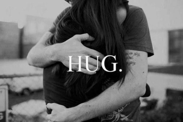 awesome, hug, couple