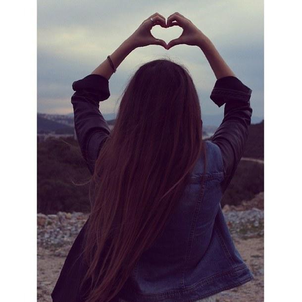 fashion, girl, cute, heart, hand