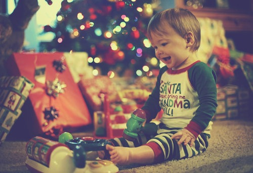 happy, boy, kid, christmas