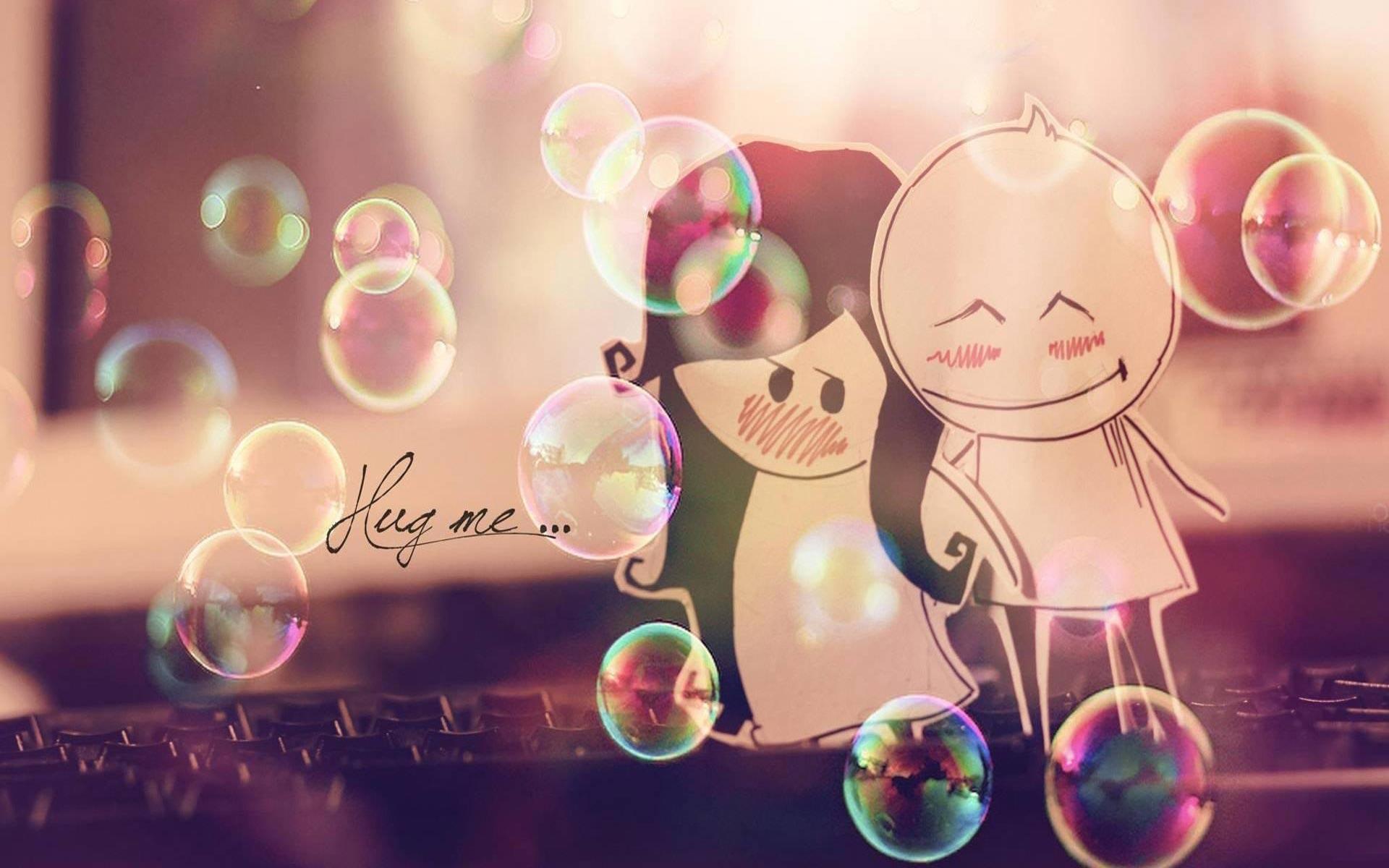 love, hug, cute, adorable, paper