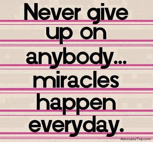 Never Give Up Love Quotes Sayings: Quote » AdorableTab.com