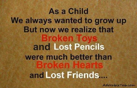 i need my childhood back
